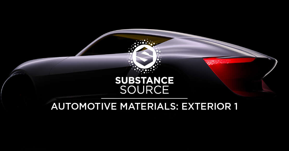 Substance Source Automotive Materials Exterior 1 Substance Upload and download materials, brushes, tutorials and much more directly from within the substance tools or from your internet browser. substance source automotive materials
