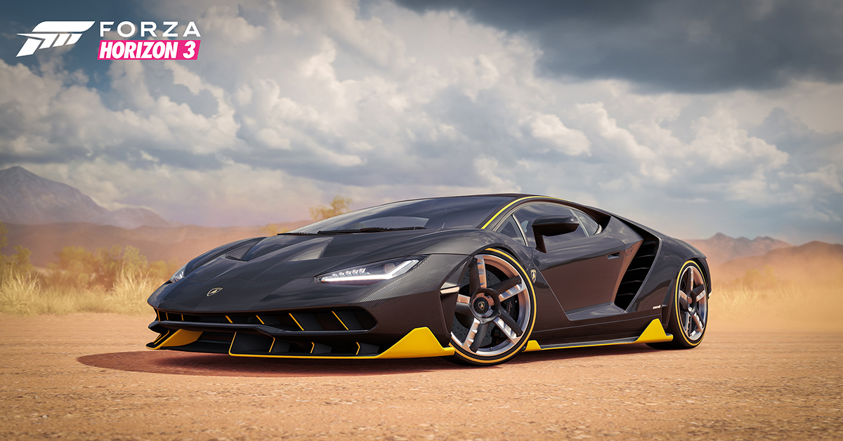 Forza horizon 3 a game with substance allegorithmic - Is forza horizon 3 4k ...