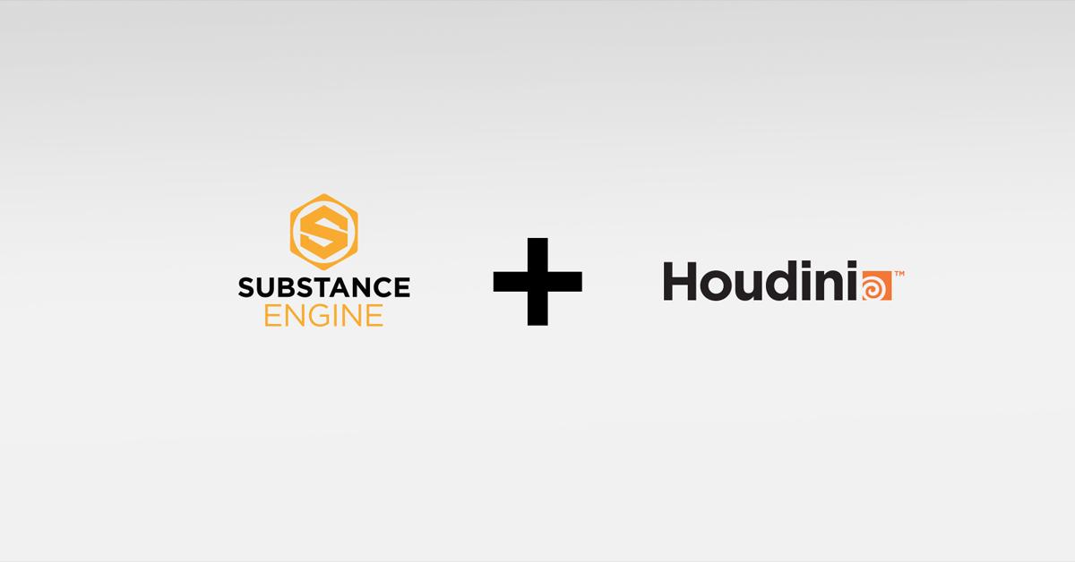 Substance in Houdini 15 5   allegorithmic