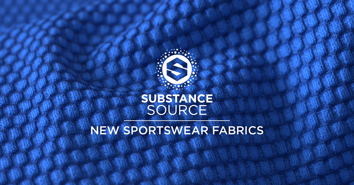Substance Source Kicks Off New Sportswear Fabrics Substance The sources can be found in. substance source kicks off new