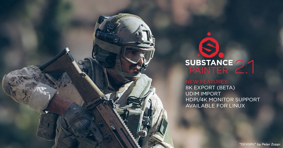 Substance Painter 21 Is Here
