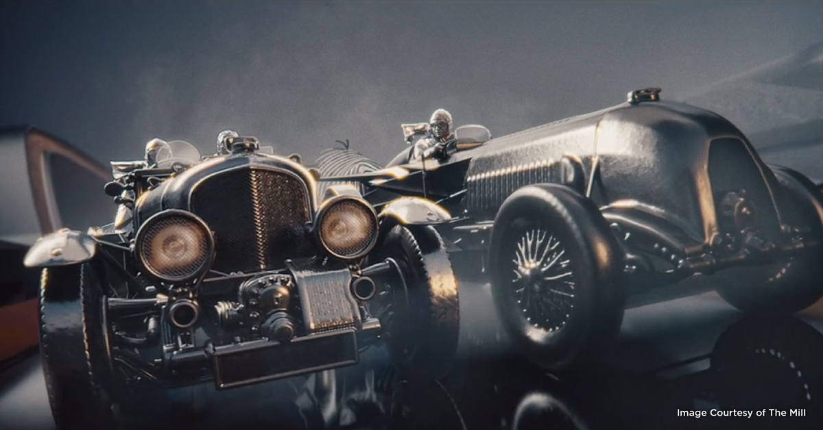 Bentley 100 Years Anniversary Commercial - A Texturing Story with