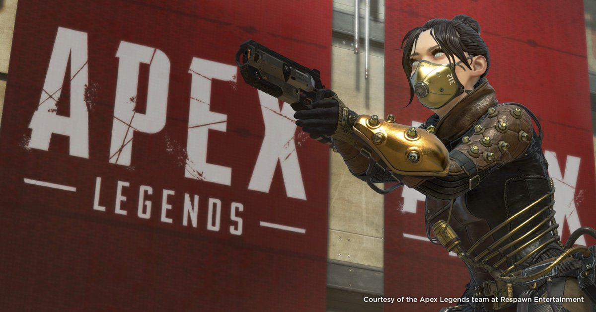 Apex Legends - Texturing the Battle Royale Phenomenon of