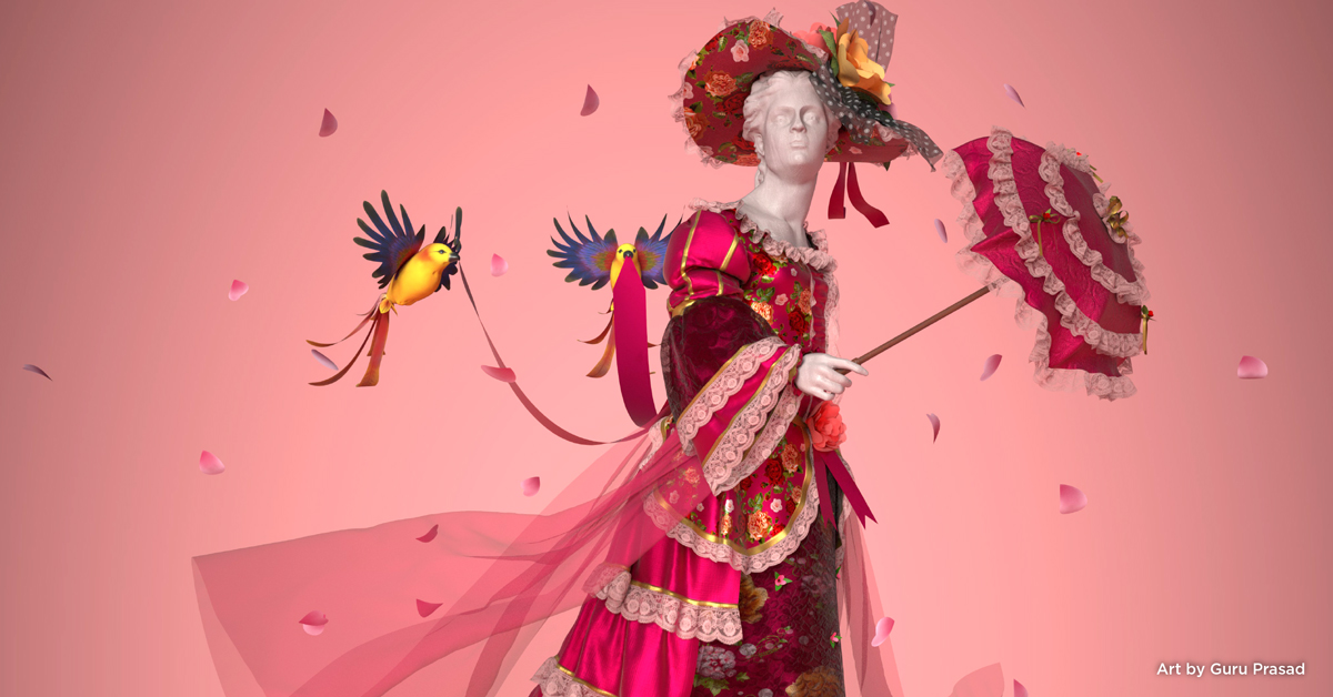 Creating a Magnificent Dress with Marvelous Designer and Substance