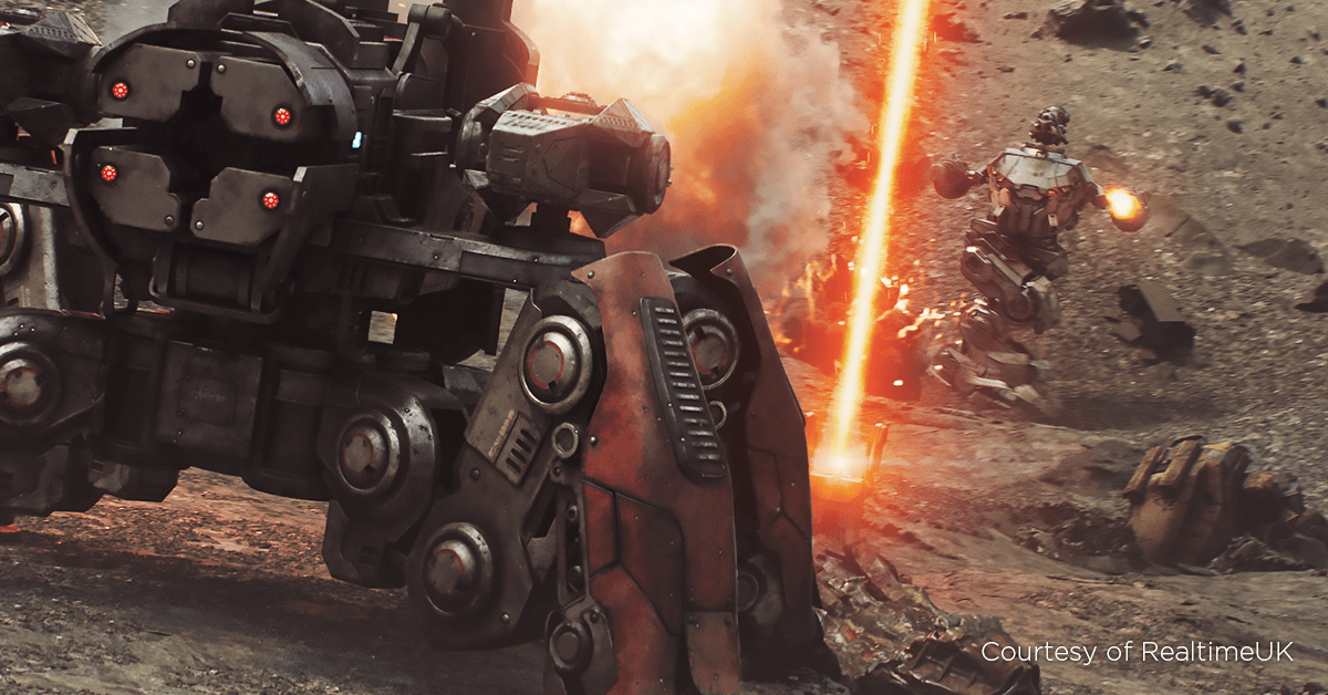 War Robots: Substance Painter for Cinematics with RealtimeUK